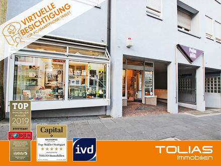 Laden + Wohnung ca. 203 m² + gr. Garten in Einkaufsstraße durch Umbau möglich