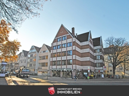 Schwachhausen / Hochwertige 2-Zimmer-Wohnung mit Balkon und Lift