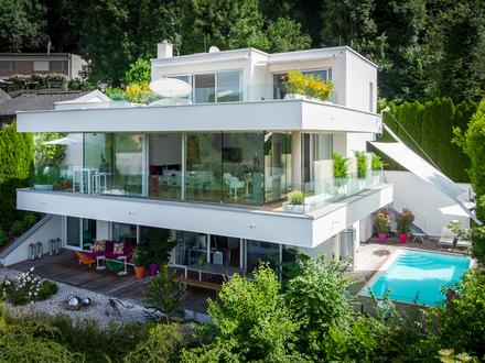 Sie lieben die Skyline von Salzburg? Villa mit Weitblick!
