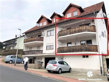 BERK Immobilien - Provisionsfrei - 3-Zimmer-Wohnung mit großem Balkon in Neuhütten.