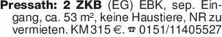 Pressath: 2 ZKB (EG) EBK, sep....