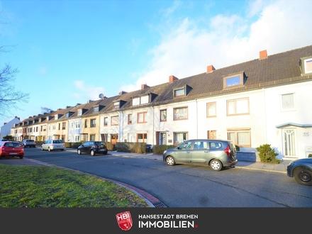 Walle / Reihenhaus mit 180 m² Wohn-/ Nutzfläche gegenüber der Überseestadt