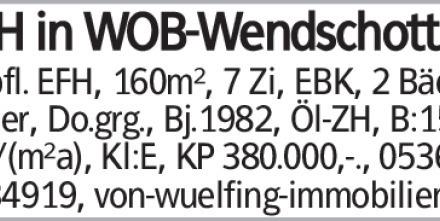 Haus in Wolfsburg (38440) 160m²