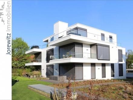 Bauhausstil in Bielefeld-Hoberge: Exklusive 4 Zimmer-Terrassenwohnung