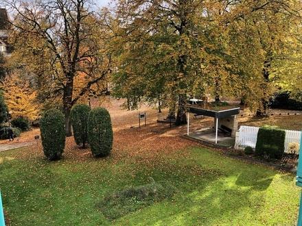 Seniorenwohnung mit Blick in den Kurpark