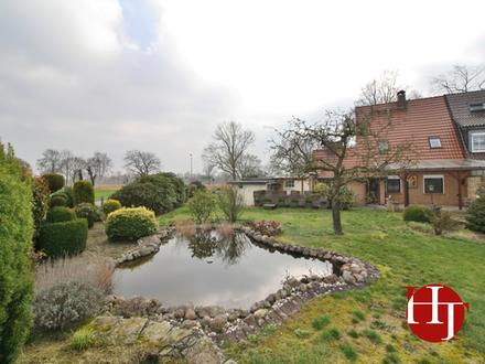 Kleines, gepflegtes Handwerker-Häuschen mit großem Garten in ruhiger Lage!