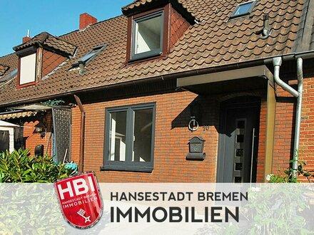 Woltmershausen / Kapitalanlage / Modernisiertes Reihenhaus mit Terrasse