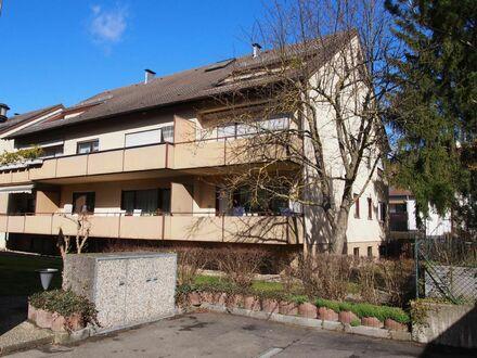 Ehningen -ideale Wohnlage: 3 Zi.-Eigentumswohnung im Hochparterre mit Südbalkon