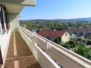 Gepflegte 3-Zimmer-Wohnung mit Balkon in herrlicher Aussichtslage