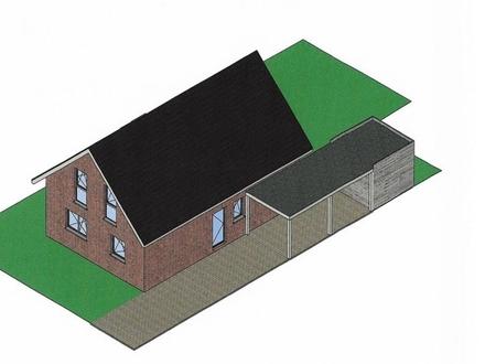 Neubau-gemütliches Einfamilienhaus an der niederländische Grenze