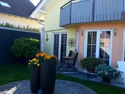Schönes Einfamilienhaus im mediterranen Stil