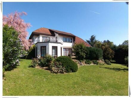 Rüdesheim: Attraktives Anwesen auf tollem Grundstück in Weinbergsnähe