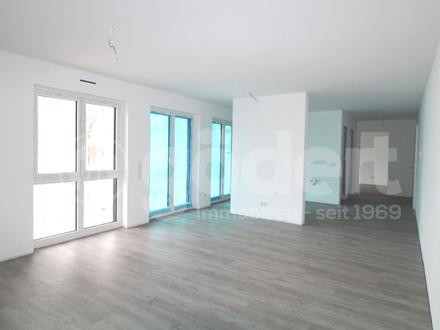 Top Neubau-Wohnung mit großzügiger Terrasse und Garten!