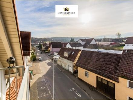 Reutlingen-Ohm. 3-Zi.-Wohnung mit Balkon, Ausblick und sofort frei