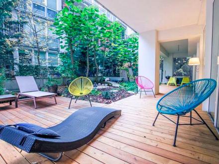 3-Zimmer Wohnung mit 80 m2 Garten im 7. Bezirk