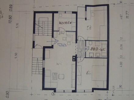 Freundliche 3-Zimmer-Hochparterre-Wohnung in Obersontheim ab 01.03.2020
