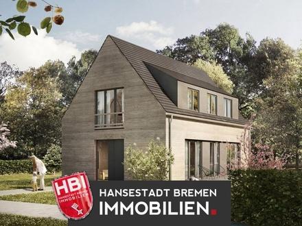 RESERVIERT / Worspwede / Bötjerscher Hof - Großzügiges Einfamilienhaus in Holzrahmenbauweise mit großem Garten
