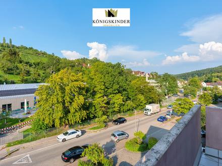 Leerstehende 2-Zimmer Wohnung in ruhiger Lage mit schöner Aussicht in S-Rohracker
