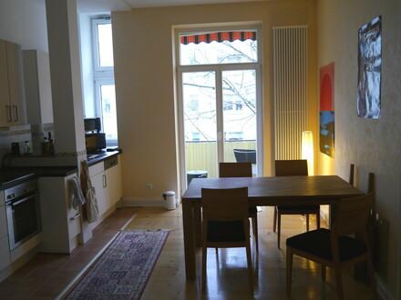 Schöne 3 ZI.-Wohnung in Alt-Bornheim mit Balkon
