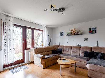 schöne, helle Ein-Zimmerwohnung mit Terrasse, Tageslichtbad, Abstellraum, TG-Stellplatz inklusive.