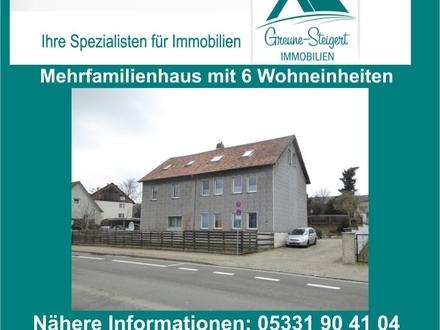 *** Mehrfamilienhaus mit sechs Wohneinheiten (teilweise renoviert)