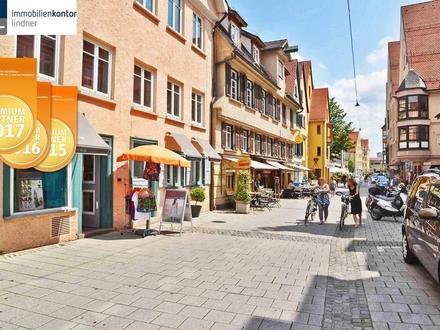 Mitten in Ulm, Wohlfühl-Büro, Fußgängerzone mit Flair