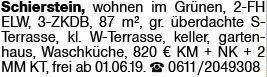 3-Zimmer Mietwohnung in Schierstein (65201)