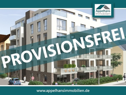 Provisionsfreie 2-Zimmer Neubauwohnung in Top-Lage von OS-Wüste!