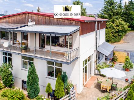 Arbeiten+Wohnen unter einem Dach! Wohn- und Geschäftshaus mit großem Garten in Weil der Stadt/Hausen