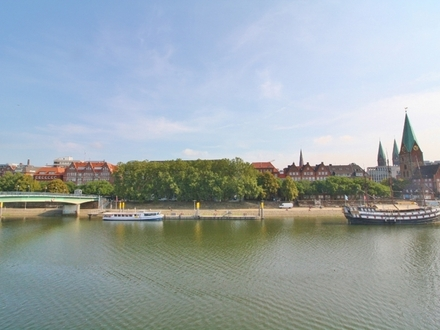Frisch für Sie renoviert! Schicke Wohnung auf dem Teerhof mitten in der Bremer Innenstadt!