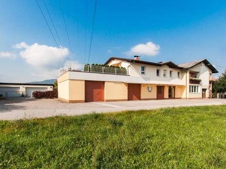 Klagenfurt - Viktring: Gepflegtes Wohn- & Geschäftshaus mit schönem Garten