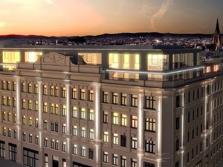 HIGH END LIFESTYLE AUF HOHEM NIVEAU, 260 qm Dachterrassen-Wohnung im 4. Bezirk