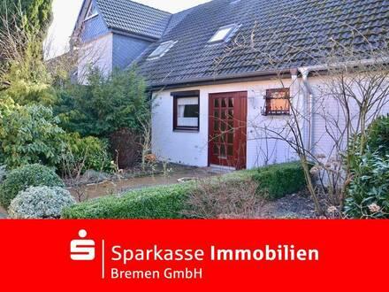 Gepflegtes Reihenmittelhaus im beliebten Stadtteil Bremen-Habenhausen