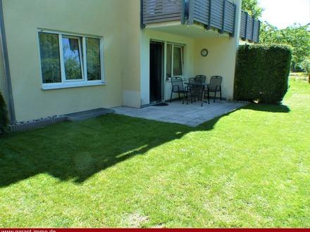 Zwei Terrassen und Garten mit attraktiver Wohnung!