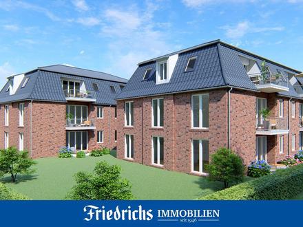 Neubau von zwei Mehrfamilienhäusern mit 12 Komfort-Eigentumswohnungen in zentraler Lage in Edewecht