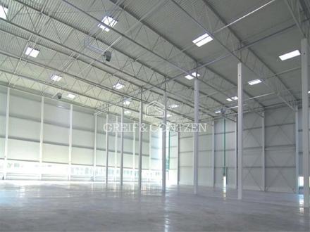 Projektiertes Neubau-Logistikzentrum