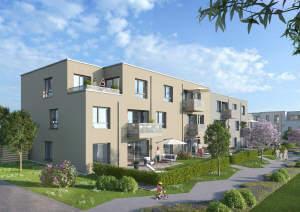 Neue Eigentumswohnungen am Sonnenrain