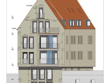 Maisonette Wohnung mit Donaublick