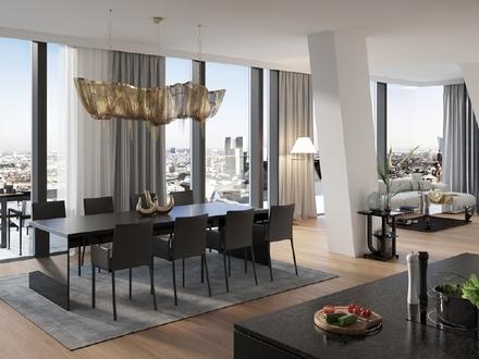 High-Class: 4-Zimmer-Wohnung mit Skylineblick