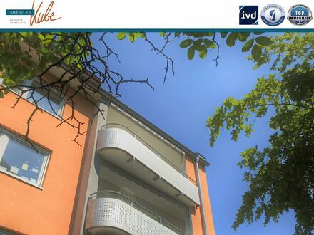 Frisch sanierte 3 Zimmerwohnung mit Blick auf die nördliche Altstadtmauer Nbg.- Gärten hinter der Veste