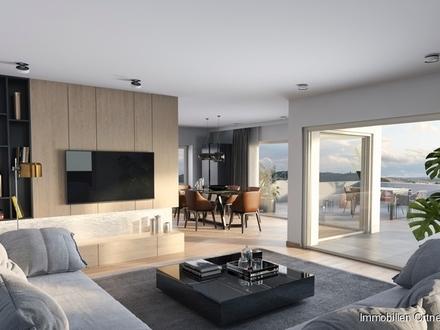 Neuwertige Penthouse Wohnung mit Solarstrom CP u. PP in Kirchberg
