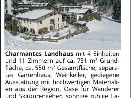 Tirol – Zillertal, Charmantes Landhaus mit 4 Einheiten
