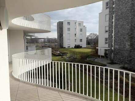 Mit Rheinblick:Hochwertige 2 Zimmer-Wohnung mit Wellnessbereich