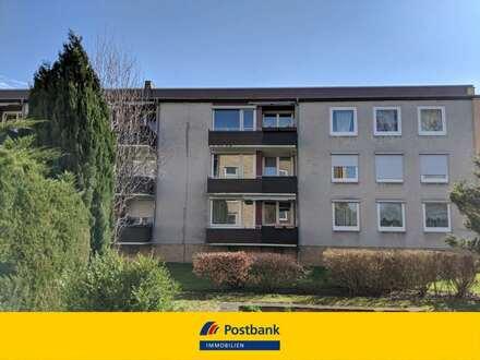 Gut geschnittene 3 Zimmer Eigentumswohnung mit großem Balkon