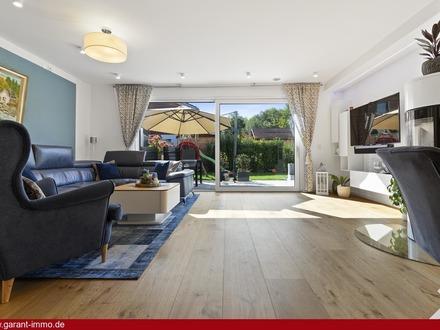Familienfreundliche Doppelhaushälfte mit professioneller Smart-Home-Vernetzung.