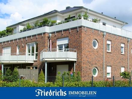 Neuwertige Obergeschosswohnung mit Balkon in Edewecht / Zentrum