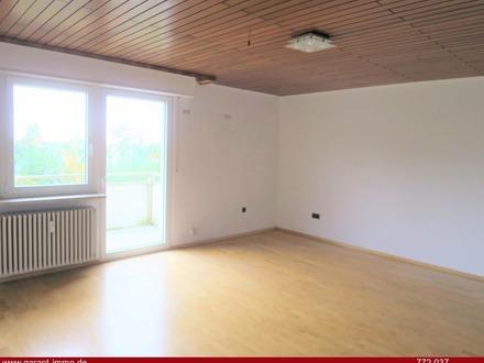 *** 2 Zimmer-Wohnung mit großem Balkon und schöner Aussicht ***