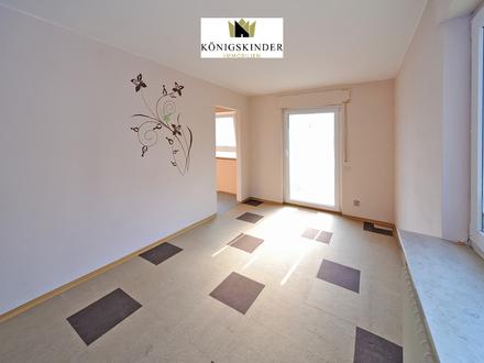Attraktive 1-Zimmerwohnung mit Balkon und Stellplatz als Kapitalanlage oder Selbstnutzung