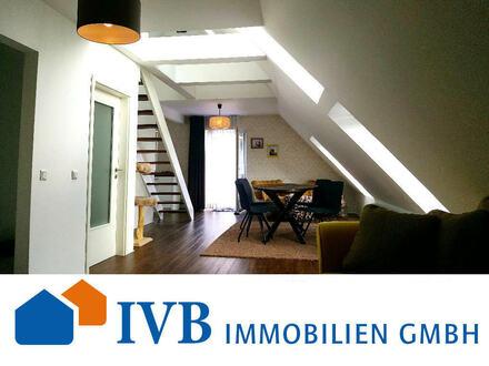 Attraktive 3-Zimmer-Maisonette-Wohnung mit Balkon und Garage in Steinhagen!