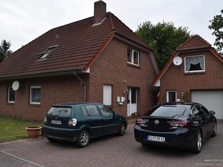 Strücklingen: Eine schicke Erdgeschosswohnung mit Garten